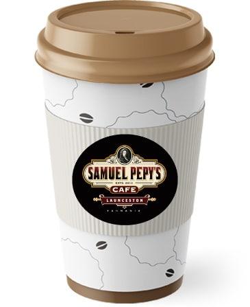 Samuel Pepys Takeaway Coffee